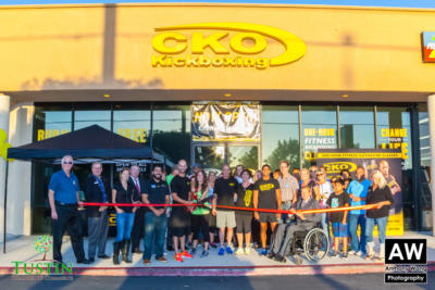 150917 CKO Kickboxing Ribbon Cutting 0038