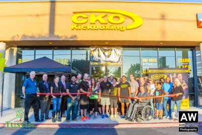 150917 CKO Kickboxing Ribbon Cutting 0041