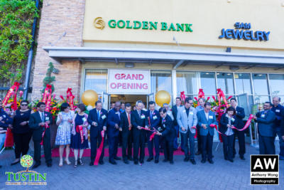 Golden Bank Ribbon Cutting