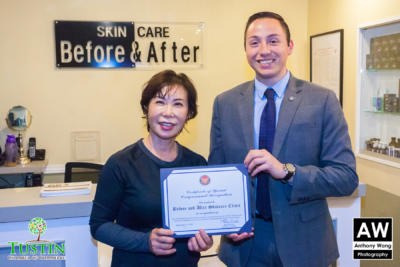 171115 Before and After Skin Care Ribbon Cutting 0037