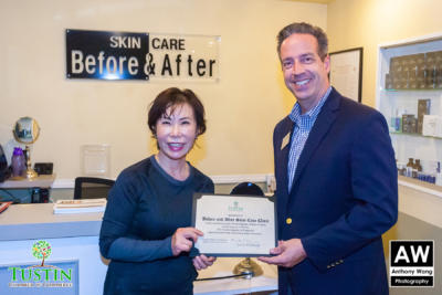 171115 Before and After Skin Care Ribbon Cutting 0044