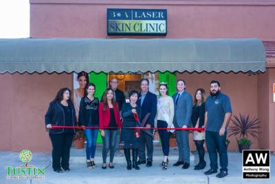 171115 Before and After Skin Care Ribbon Cutting 0046