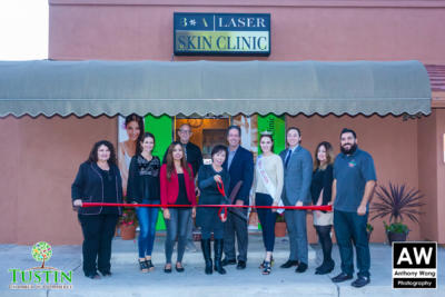 171115 Before and After Skin Care Ribbon Cutting 0048