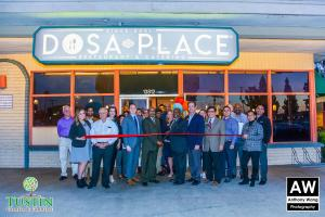 180111 Dosa Place Ribbon Cutting 0036