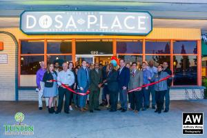 180111 Dosa Place Ribbon Cutting 0040