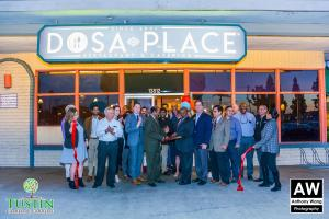 180111 Dosa Place Ribbon Cutting 0043