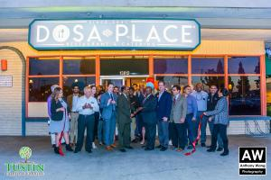 180111 Dosa Place Ribbon Cutting 0044
