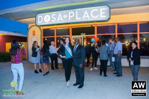 180111 Dosa Place Ribbon Cutting 0048