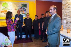 180111 Dosa Place Ribbon Cutting 0056