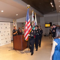 The Tustin PD Color Guard Presents